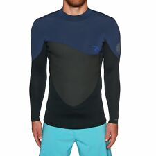 Rip Curl 1.5mm Omega Long Sleeve Top Mens Surf Gear Wetsuit - Navy All Sizes