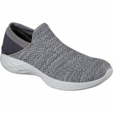 Skechers You Femme Chaussures Chaussure - Charcoal Toutes Tailles