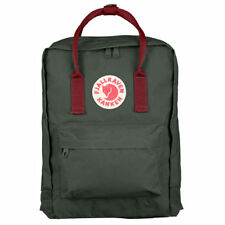 Fjallraven Kanken Classic Unisexe Sac à Dos - Forest Green Ox Red Une Taille
