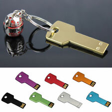 4GB 8GB 32GB 64GB Key Pen Drive memoria flash USB Memory Metal llavero U disco
