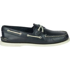 Sperry Authentic Original 2 Eye Homme Chaussures Mocassins - Navy Toutes Tailles