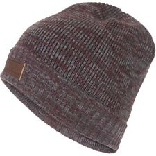 Rip Curl Double Up Mens Headwear Beanie Hat - Pewter Grey One Size