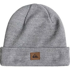 Quiksilver Performed Homme Couvre-chefs Bonnet - Medium Grey Heather Une Taille