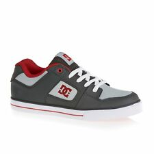 Dc Pure Chaussures Chaussure - Grey/grey/red Toutes Tailles