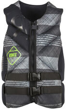 Ronix FORESTER Capella Chaleco 2016 Black / Gris Tartán wakeboard Neo Chaleco