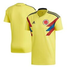 adidas Colombia National Team Yellow 2018 Home Replica Blank Jersey