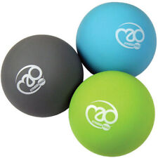 Fitness Mad Trigger Point Ball Set Unisex Sports Recovery Massage Tool - Blue
