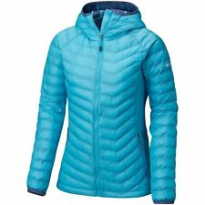 Columbia Powder Lite Light Hooded Femme Veste - Atoll Bluebell Toutes Tailles