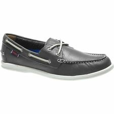 Sebago Litesides Two Eye Homme Chaussures Mocassins - Dark Grey Tumbled Leather