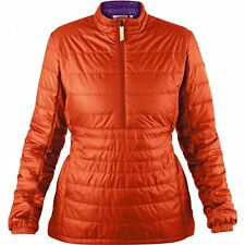 Fjallraven Abisko Padded Pullover Womens Jacket Synthetic Fill - Flame Orange