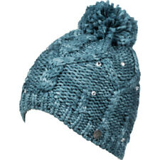 Roxy Shooting Star Femme Couvre-chefs Bonnet - Ink Blue Une Taille
