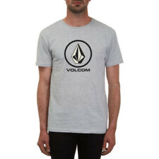 Volcom Circlestone Basic Homme T-shirt à Manche Courte - Heather Grey