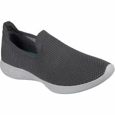 Skechers You Zen Femme Chaussures Chaussure - Charcoal Toutes Tailles