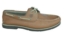 Timberland AF Earthkeepers youngston Barco Zapatos Hombre Cuero Marrón 6655r U17