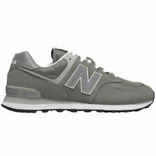 New Balance ML574 Grey Mens Suede Mesh Low-top Running Shoes Trainers