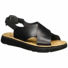 Camper Oruga Black Womens Leather Strappy Slingback Summer Casual Sandals