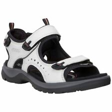 Ecco Offroad Shadow White Womens Nubuck Slingback Outdoor Activity Sandals