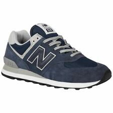 New Balance ML574 Navy Mens Suede Mesh Low-top Running Shoes Trainers