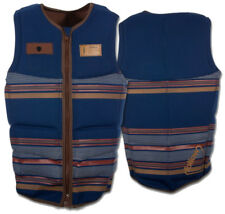 FOLLOW STOW COOK IMPACT Weste 2016 navy Wakeboard Neo Vest Schwimmweste