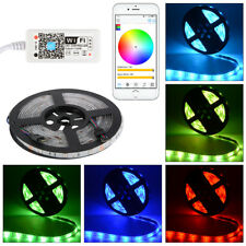 Waterproof 5M RGB 5050 LED Wireless Strip Light+Wifi Controller for iOS Android