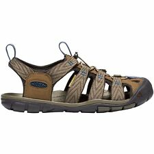Keen Clearwater Cnx Homme Chaussures Tongs - Dark Earth Blue Opal Toutes Tailles