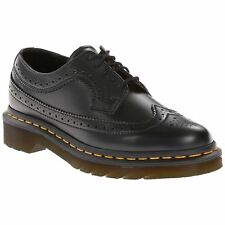 Dr.Martens 3989 5-Eyelet Black Unisex Casual Brogues Lace-up Shoes