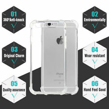 Gorilla Anti Shock Clear Case Builder Transparent Gel Cover For iPhone X 8 7