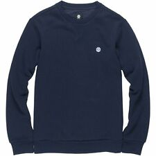 Element Classic Cornell Crew Homme Pull Sweater - Eclipse Navy Toutes Tailles