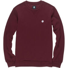 Element Classic Cornell Crew Homme Pull Sweater - Napa Red Toutes Tailles