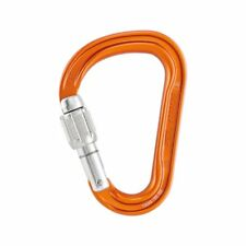 Petzl Attache Screw Lock Unisexe Matériel Pour L'escalade Mousqueton - Orange