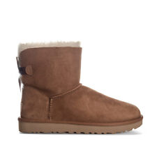 Womens Ugg Australia Mini Bailey Bow Ii Boots In Chestnut