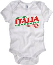 Body Neonato Bianco OLDENG00145 ITALY WORLD CHAMPS