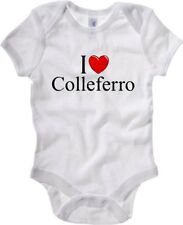 Body Neonato Bianco TLOVE0034 I LOVE HEART COLLEFERRO