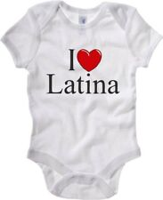 Body Neonato Bianco TLOVE0041 I LOVE HEART LATINA