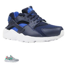 Nike Huarache Run GS Textile Lace-Up Low-Top Sneakers Youth Trainers