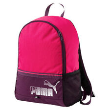 Puma Phase Backpack II Unisex Two Strap Rucksack Bag Pink Purple 074413 22  P1 f0fdef9d2a872