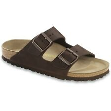 Birkenstock Arizona Oiled Leather Femme Chaussures Tongs - Habana Toutes Tailles