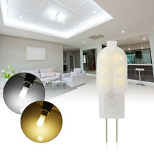 10x DC 12V G4 Bi-Pin LED Capsule Ampoule Lampe Energy Saving Froid/Chaud Blanc