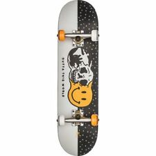 Globe Outta This World Unisex Board Skateboard - White Black One Size