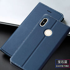 For Xiaomi Mi Max 3 A2 Lite Luxury Magnetic Flip Leather Wallet Case Stand Cover