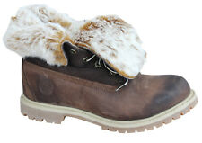 Timberland Earthkeepers EK Authentics Fold Down Womens Boots Brown 8321A D34