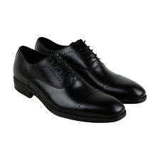 Kenneth Cole New York Design 102212 Mens Black Casual Dress Oxfords Shoes