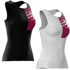Compressport Triathlon Postural Aero Ultra Tank Top Women Tri Ironman Singlet