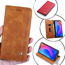 Leather Magnetic Flip Wallet Case Cover For Xiaomi A1 A2 Lite Redmi Note 5 Pro