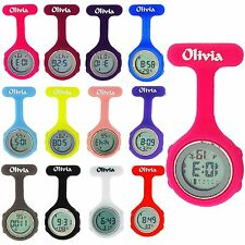 The Olivia Collection Digital Multifunción Goma Silicona Reloj de Bolsillo