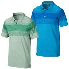 Oakley Golf Hombre Owens Manga Corta Performance Tech Polo 27% sin Mangas