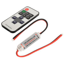 RF Remote Controller with Mini Dimmer Switch for 5050 3528 5630 LED Strip Light