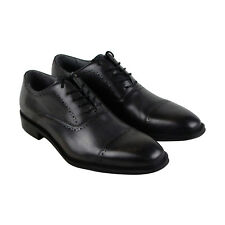 Kenneth Cole New York Design 10221 Mens Black Casual Dress Oxfords Shoes