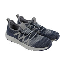 Skechers Nichlas Tricity Mens Blue Textile Athletic Lace Up Training Shoes