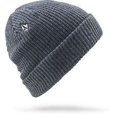 Volcom Full Stone Homme Couvre-chefs Bonnet - Charcoal Heather Une Taille
